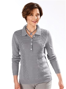 Lattice Rib Polo