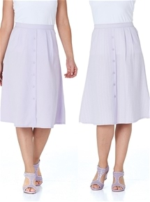 2 Pack Mock Button Skirts