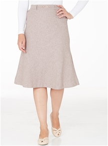 Marle Wool Skirt