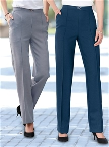 2 Pack Trousers Regular Length
