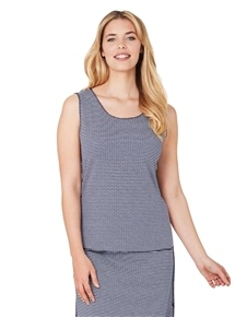 Travel Reverse Knit Tank