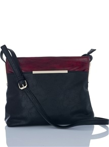 Contrast Cross Body Bag