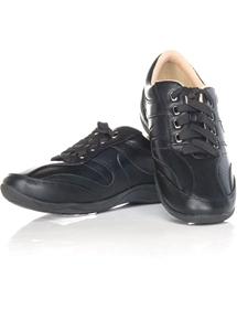 Lace Up Walker Shoe