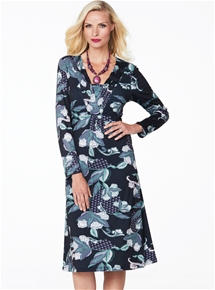 Dimmity Floral Dress