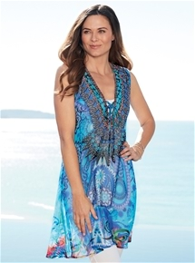 Copacabana Kaftan Dress