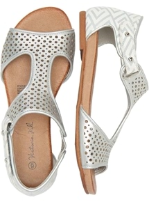 Printed Touch Close Sandal