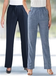 2 Pack Trousers - Regular