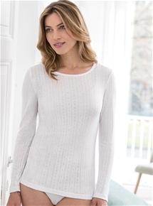 Pointelle Knit Long Sleeve - Pack of 2