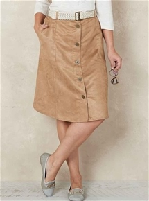 Peached Utility Skirt