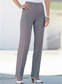 Smooth Silhouette Trousers