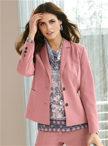 Blush Tailored Jacket
