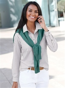 Prettiest Stripe Blouse