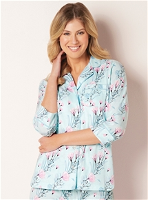 3/4 Sleeve PJ Top