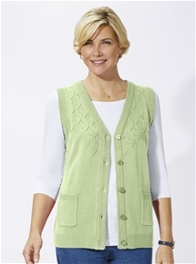 Fancy Knit Vest