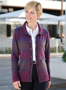 Ombre Cardigan Jacket