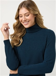Turtleneck Merino Wool Sweater