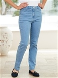 Fit and Flatter Denim Jeans - Short Length_16W02_2