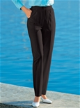 Stretch Waist Button Trousers_17R31_0