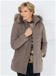 Detachable Hood Faux Fur Jacket_19Q49_1
