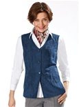 Suedette Button Vest_19Q73_3