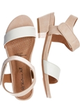Two-Tone Strappy Heel_19S16_1