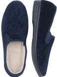 Paisley Velour Slippers_5604_1