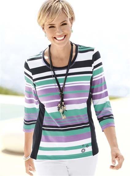 Pretty Stripe Sweater