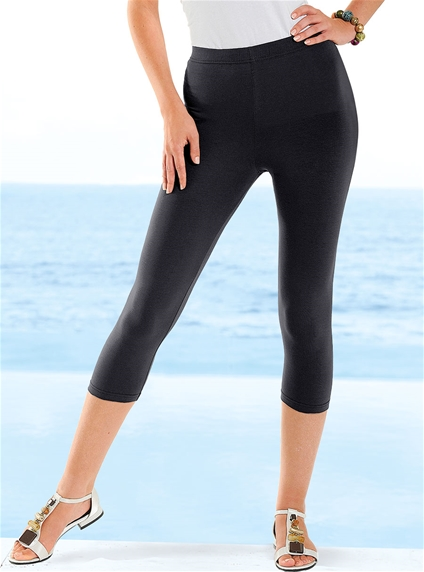 Flattering Crop Leggings